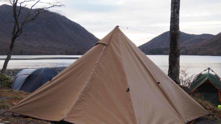 スカートなしの PANDA TC で冬キャンプ